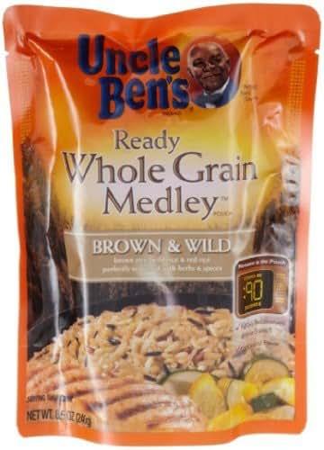 Rice: Uncle Ben's Ready Whole Grain Medley