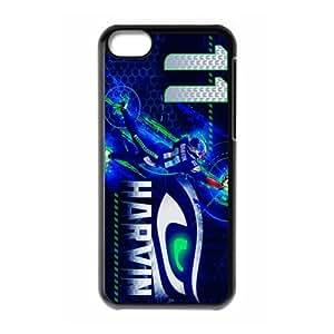 Apple iPhone 5C Hard Plastic Case NFL Seattle Seahawks