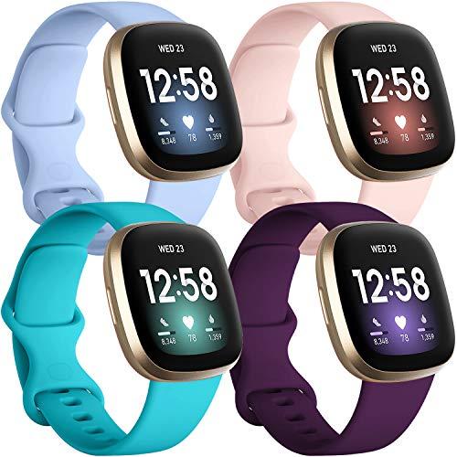 Mallas Compatible L/x4//reloj Fitbit Sense Y Fitbit Versa 3