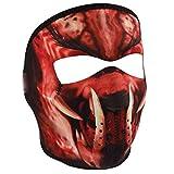 Zan Headgear, Full Mask, Neoprene, Reverses From Red Slayer to Grey Mask