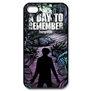 Customize Famous Rock Band A Day To Remember Back Case for iphone4 4S JN4S-1705
