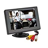 Soled 4.3 inch Mirror Foldable Car LCD TFT Rearview Monitor Screen