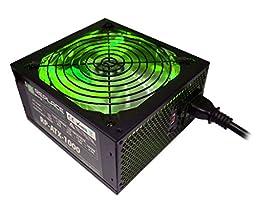 Replace Power RP-ATX-1000W-GRN 1000W ATX Power Supply Green LED