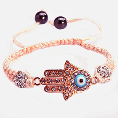 ILOVEDIY Handmade Evil Eye Bracelet for Men and Women