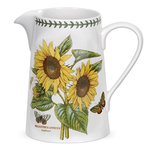 Jug Garden - Portmeirion Botanic Garden Bella Jug, Sunflower Motif