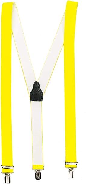 shenky - Tirantes con 3 clips y forma de Y - Para hombre y mujer ...