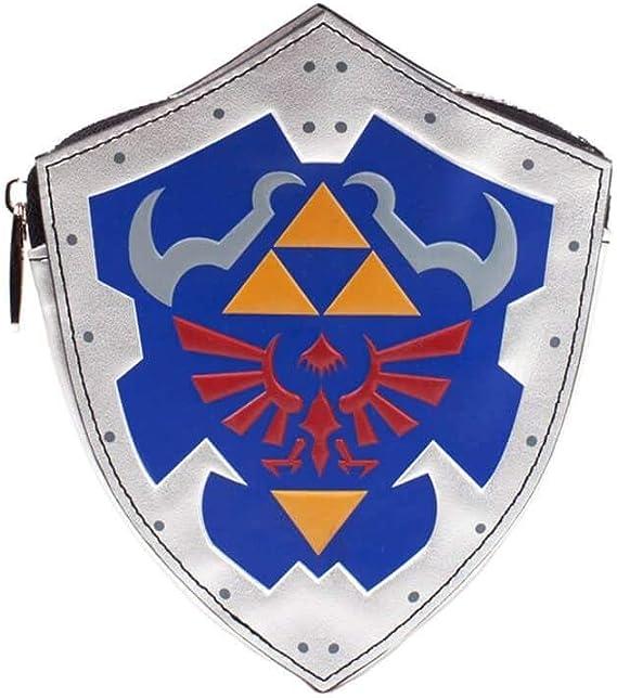 Bioworld Nintendo Legend of Zelda Breath The Wild - Monedero para Mujer, 16 cm, Color Gris