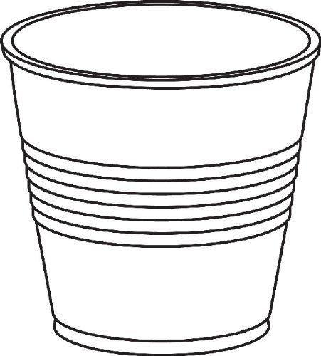 Dart Y35 Conex Translucent Plastic Cold Cups, 3.5oz, 2500/Carton -