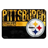 The Northwest Company NFL Pittsburgh Steelers Embossed Memory Foam Rug, One Size, Multicolor