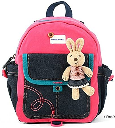 41cd259dc56 Amazon.com   Kid Toddler Walking Safety Harness with Cute Teddy Bear Bunny  Backpack - Sold and Ship From USA (Pink Bunny)   Baby