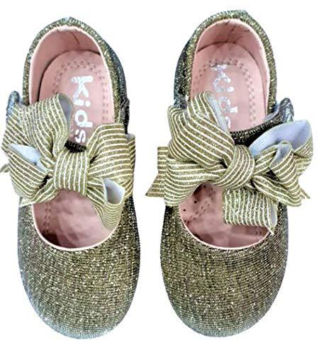 Baby Girl Shoes Colour- Golden