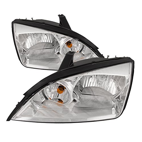 Ford Focus Headlight Headlamps OE Style Replacement Driver/Passenger Pair New - Ford Focus Headlamp