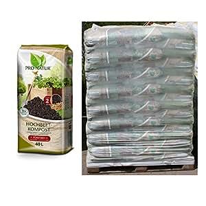 Bio Bancal de compostaje pronatur 48x 40L = 1920L)