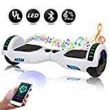 EPCTEK 6.5'' Hoverboard, Two Wheel Self Balancing Hoverboard with LED Light Free Carry Bag - UL2272 Certified Hover Board for Adults Kids