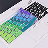 """Keyboard Cover Compatible 2018 2017 2016 Acer Premium R11 11.6"""" Convertible 2-in-1 Chromebook /11.6"""" Acer Chromebook 11 CB3-131 CB3-132/13.3"""" Acer Chromebook R 13/15.6"""" Acer Chorembook 15 -Rainbow"""