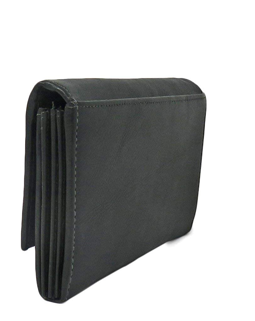 Amazon.com: AFONiE - Billetera para mujer con cierre RFID ...