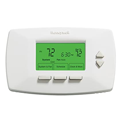 honeywell rth7500d1049 conventional 7 day programmable thermostat rh amazon com Carrier Programmable Thermostat Digital Programmable Thermostat