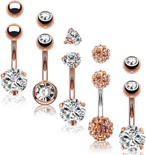 Shopping Pinks Or Beige Body Jewelry Jewelry Men Clothing