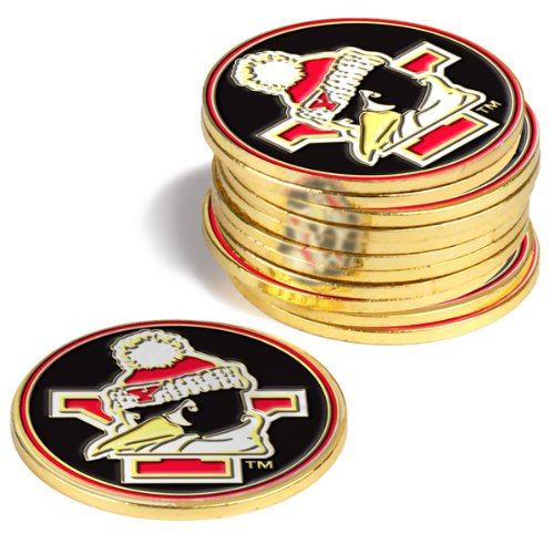 Youngstown State Penguins Golf Ball Markers (4 Pack) (Golf Ball Logo State Balls)