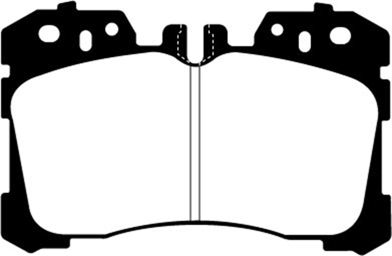 EBC Brakes DP31811C Redstuff Ceramic Low Dust Brake Pad