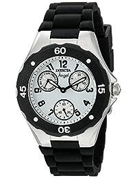 Invicta 0733 Angel Collection - Reloj de pulsera para mujer (poliuretano), color negro