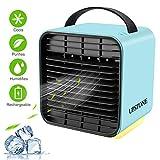 UPSTONE Portable Air Conditioner Fan, Personal Space Air Cooler Desk Fan Mini Evaporative