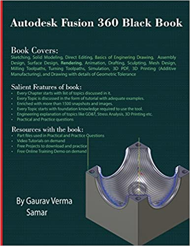 Autodesk Fusion 360 Black Book: Amazon co uk: Gaurav Verma, Samar