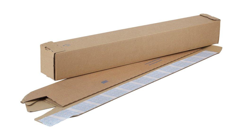 Swiftpak ondulé Tube carré 430x 105x 105mm (lot de 50) Swiftpak Limited TUPVH430