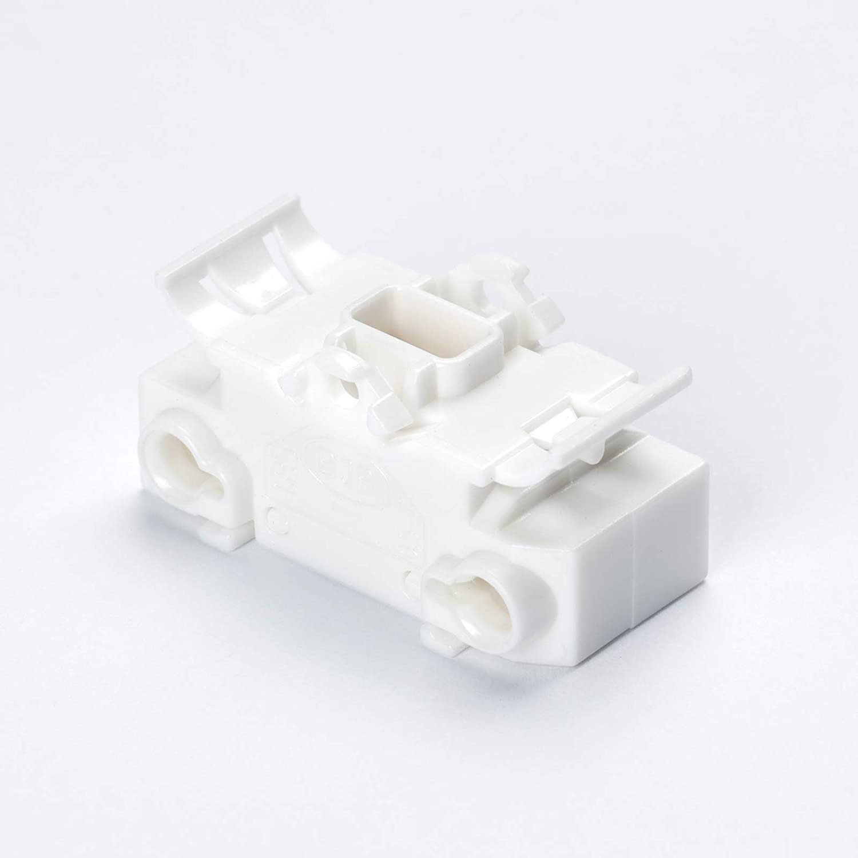 BJB Rocker Switch 43.409 Round Rocker Switch Black Light Installation Lamps