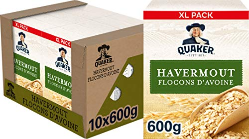 Quaker Havermout, Doos 10 stuks x 600 g