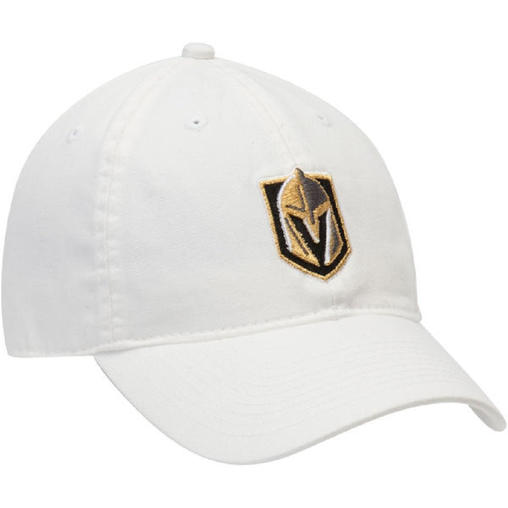 a612c5ff50c Amazon.com   adidas Las Vegas Golden Knights NHL Adjustable Slouch Hat White    Sports   Outdoors