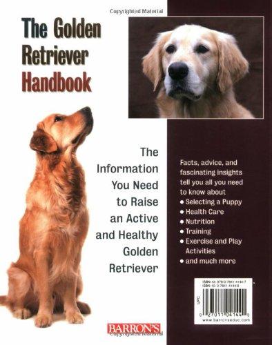 Golden Retriever Handbook Barron S Pet Handbooks D Caroline
