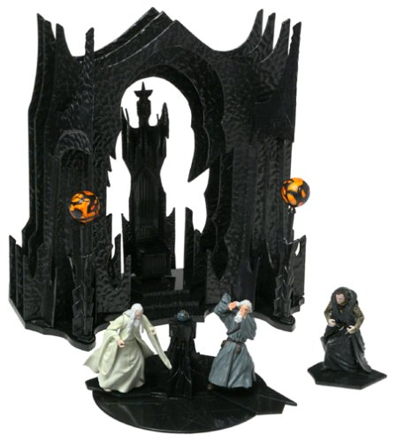 Battle Scene (Lord Of The Rings Battle Scenes: Saruman's Chamber and Balcony Set 1/24 Scale)