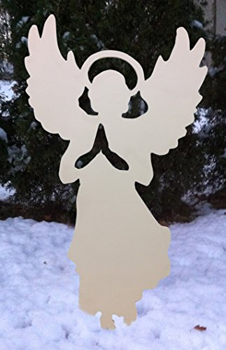 - Design House White Angel Silhouette Lawn Decoration, 20