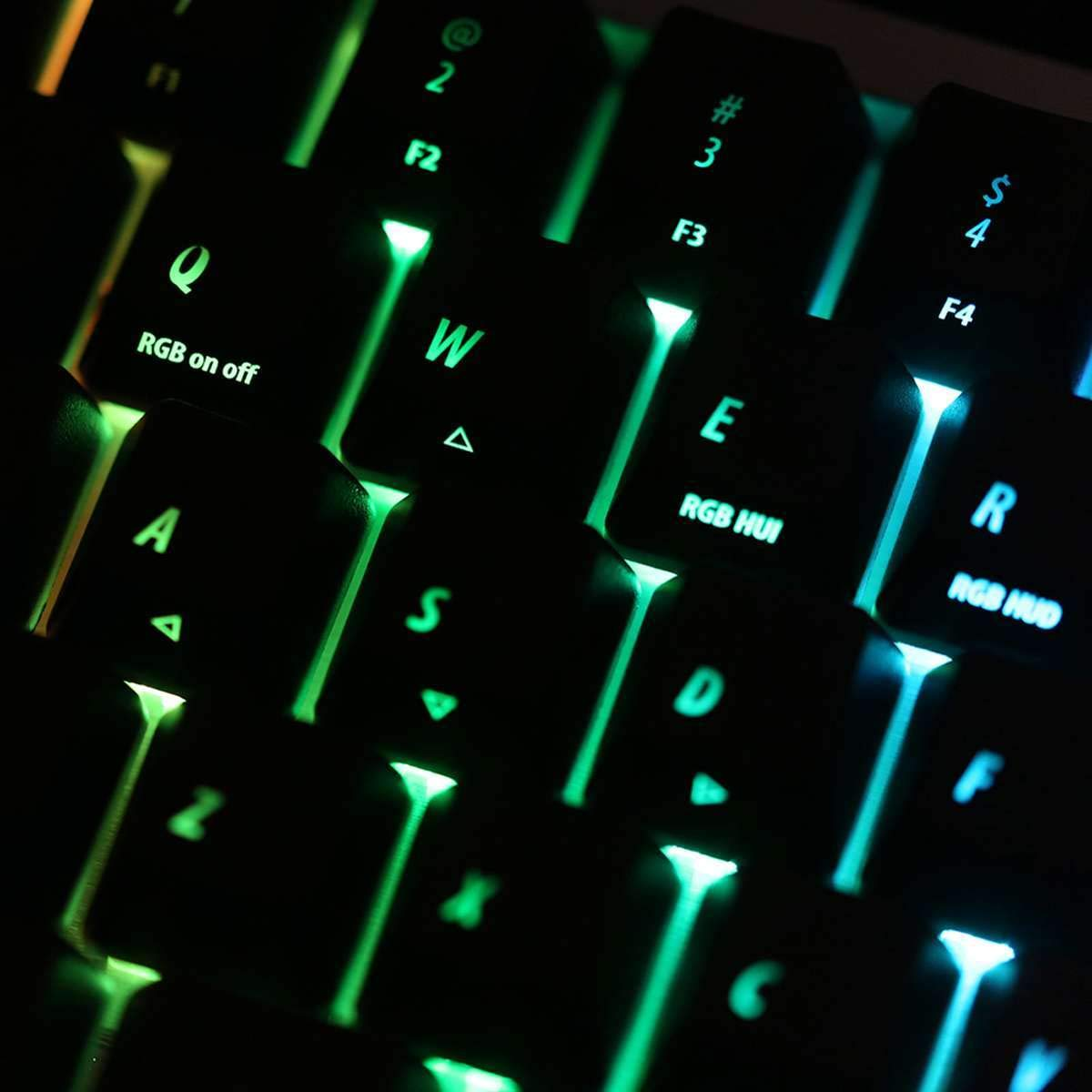 S SKYEE Merchanical Gaming Keyboard Keycaps 64 Key Light Translucent ABS Keycaps OEM Profile Keycap Set