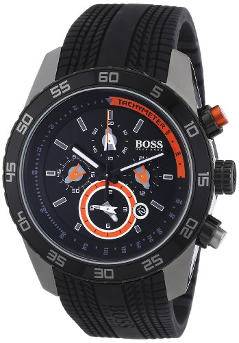 Hugo Boss Black Collection Black Dial Mens Watch (Boss Black Collection)
