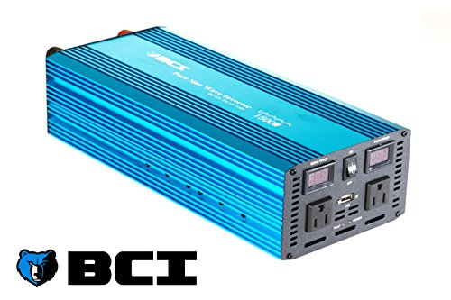 Bear Claw Industries 1500 Watt Pure Sine Wave Inverter