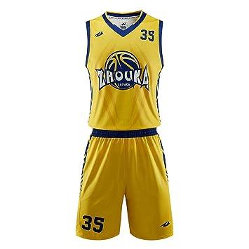 LHDDD NBA Baloncesto Uniformes Conjunto de traje de ...