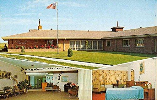 Chadron Nebraska Crest View Manor Multiview Vintage Postcard K52857