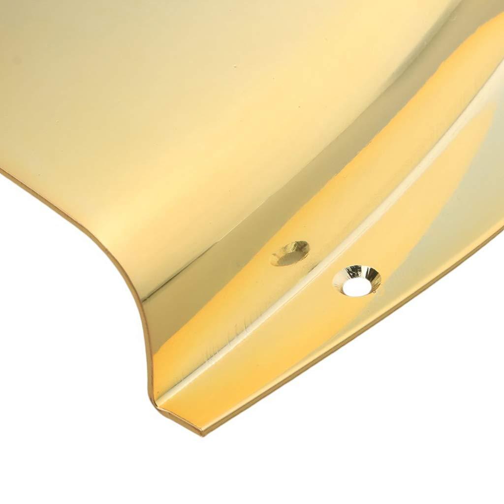 Dorado tal como se describe Tapas De Pastillas De Pastillas Y Pastillas De Bajos Duraderas Para PB Precision Bass DIY
