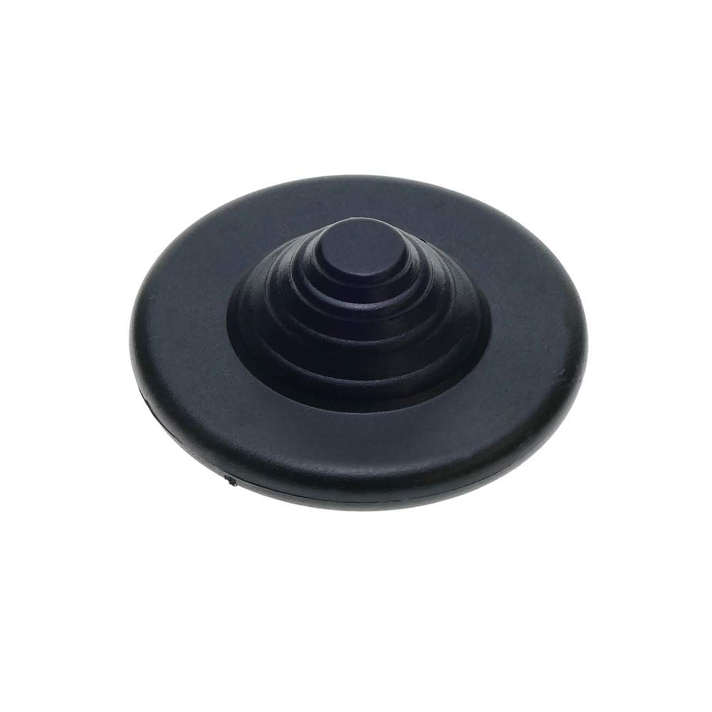 PrimeMatik /Étiquette anti-vol compatible EAS RF 8.2MHz 48mm noir avec broche