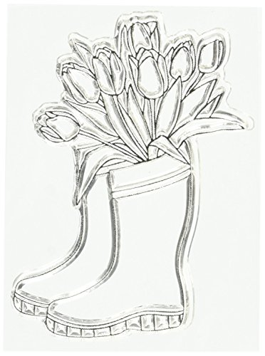 Spring Boots Stamps, 6