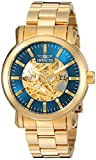 Invicta Men's 'Vintage' Automatic Stainless Steel Casual Watch, Color:Gold-Toned (Model: 22575)