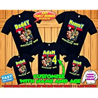 Toy Story Birthday Shirt, baby shower Toy Story Custom Shirt, Personalized Toy Story Shirt,Toy Story family shirts,