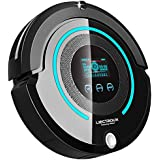 Liectroux Robotic Vacuum Cleaner Multifunction(Sweep, Mop, Vacuum, Sterilization), LCD Touch Screen, Auto Charge, Schedule Cleaning A338
