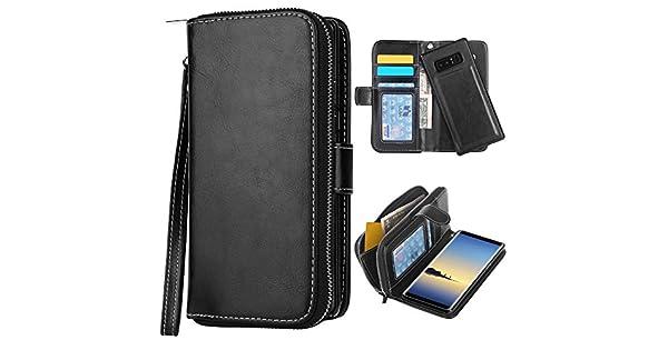 Amazon.com: Funda para Galaxy Note 8 [ranuras para tarjetas ...