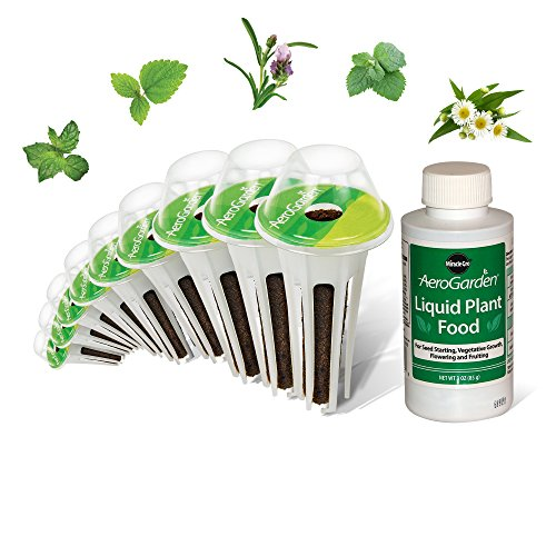 AeroGarden Fresh Tea Seed Pod Kit (9-Pod) by AeroGrow