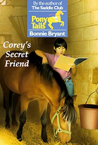 book cover of Corey\'s Secret Friend