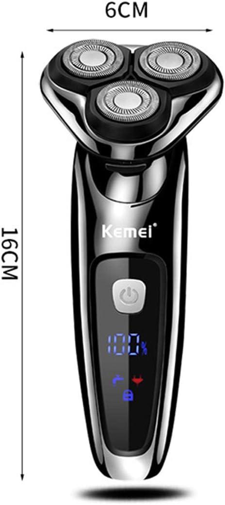 2 en 1 Afeitadora eléctrica Seca y húmeda Máquina de Afeitar ...