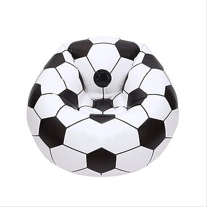 Luckybb Sofá De Fútbol Inflable, Silla De Baloncesto Sofá Perezoso ...